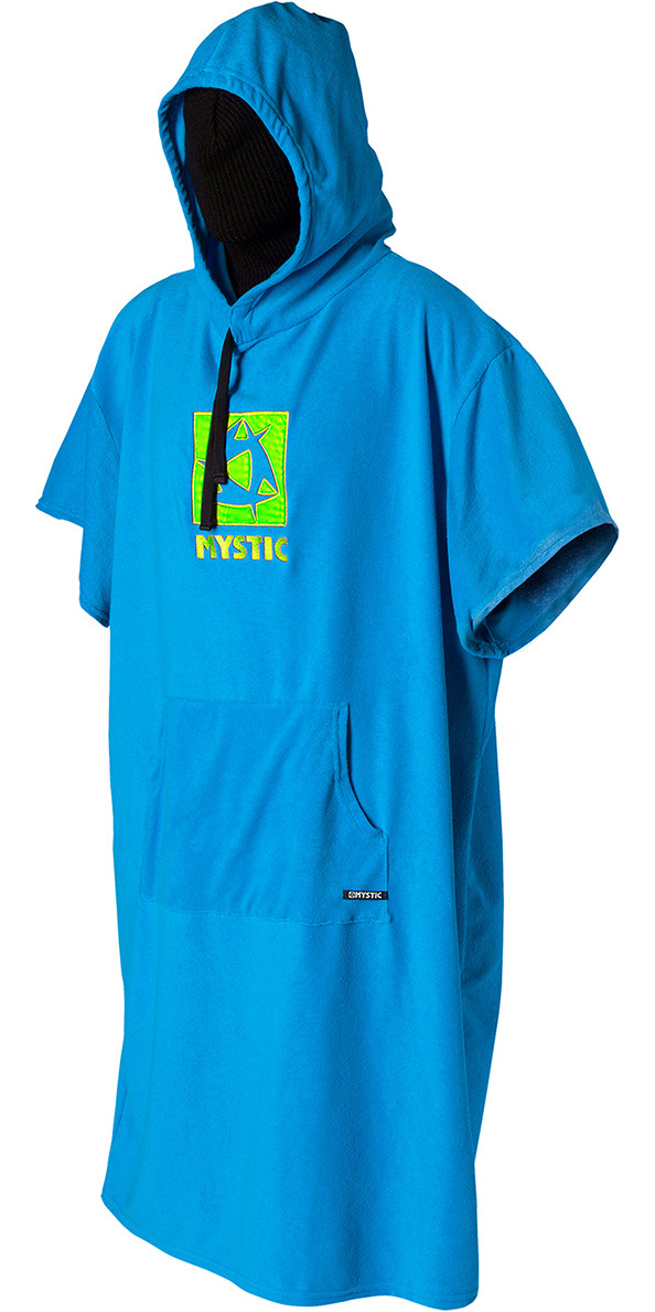 **2015 Mystic Junior Hooded Poncho in Blue 150140