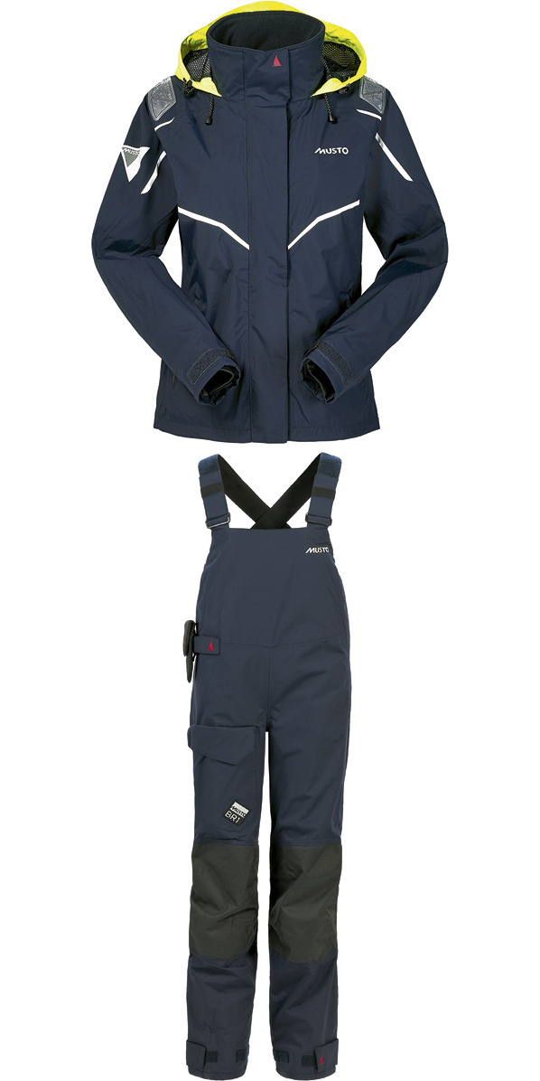 **2015 Musto LADIES BR1 Inshore Jacket SB122W7 & Trouser SB123W4 Combi Set NAVY