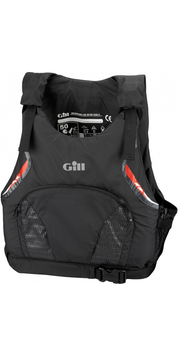 **2015 Gill Pro Racer MENS 50N Buoyancy Aid Graphite 4916