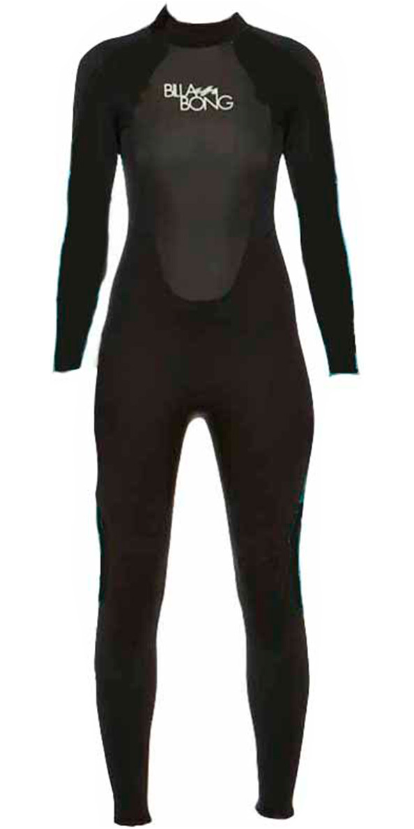 Billabong Ladies Launch 3/2mm GBS Wetsuit in BLACK O43G01