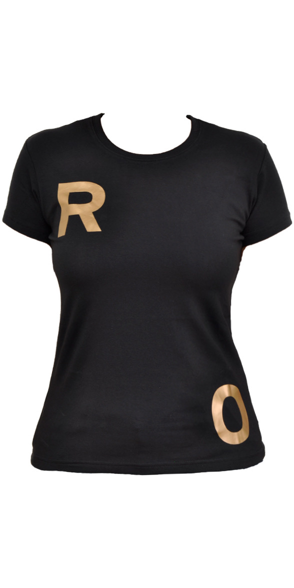 Roxy Ladies 'Poka' Surf Tee in BLACK T039WN