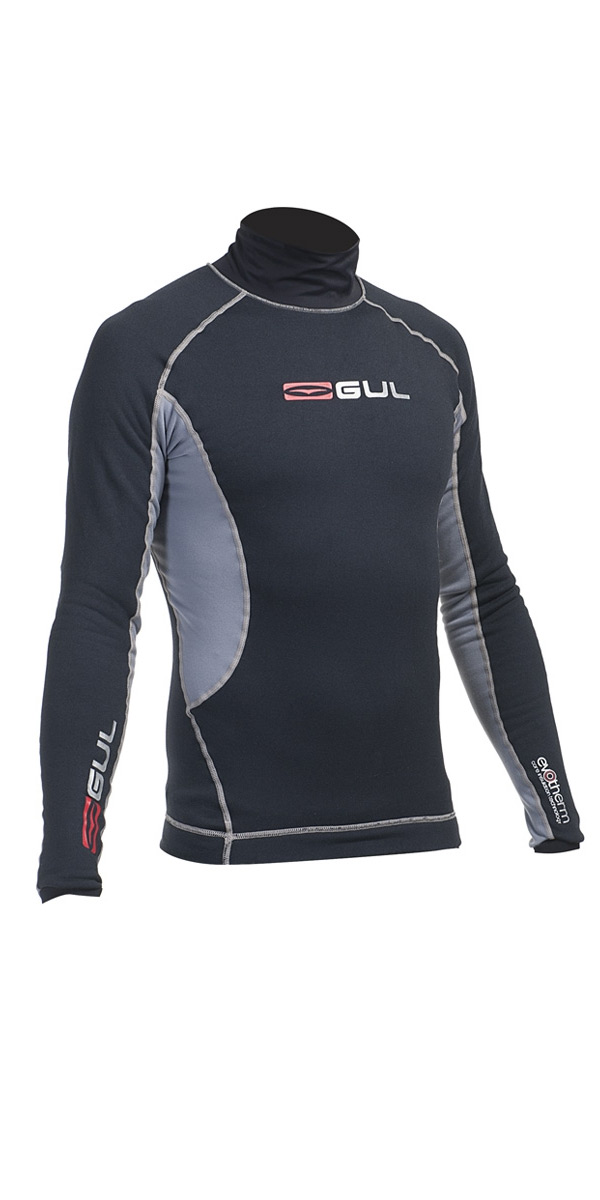 **2015 Gul Evotherm L/S Thermal Top Black/Grey AC0049