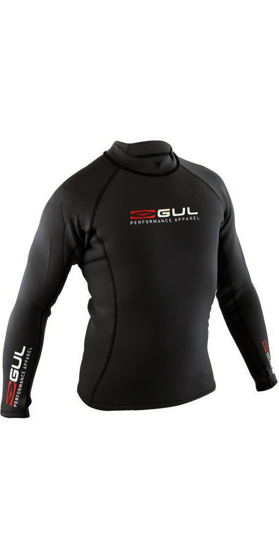 Gul Profile 0.5mm Thermo Long Sleeve Top BLACK AC0057