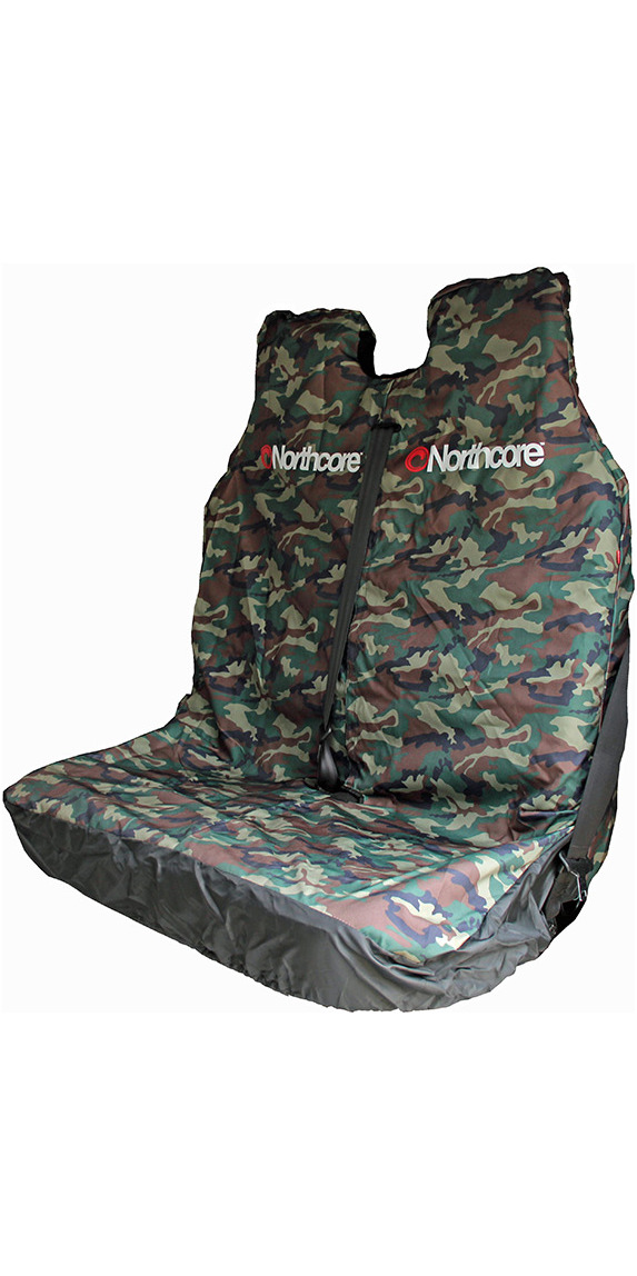 Northcore Waterproof Double Van Seat Cover CAMO NOCO06B