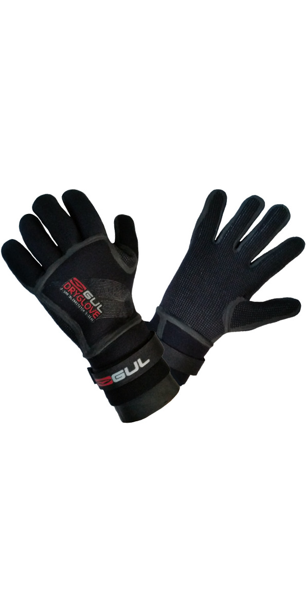 2016 Gul JUNIOR 2.5mm Dry Glove GL1233 in Black