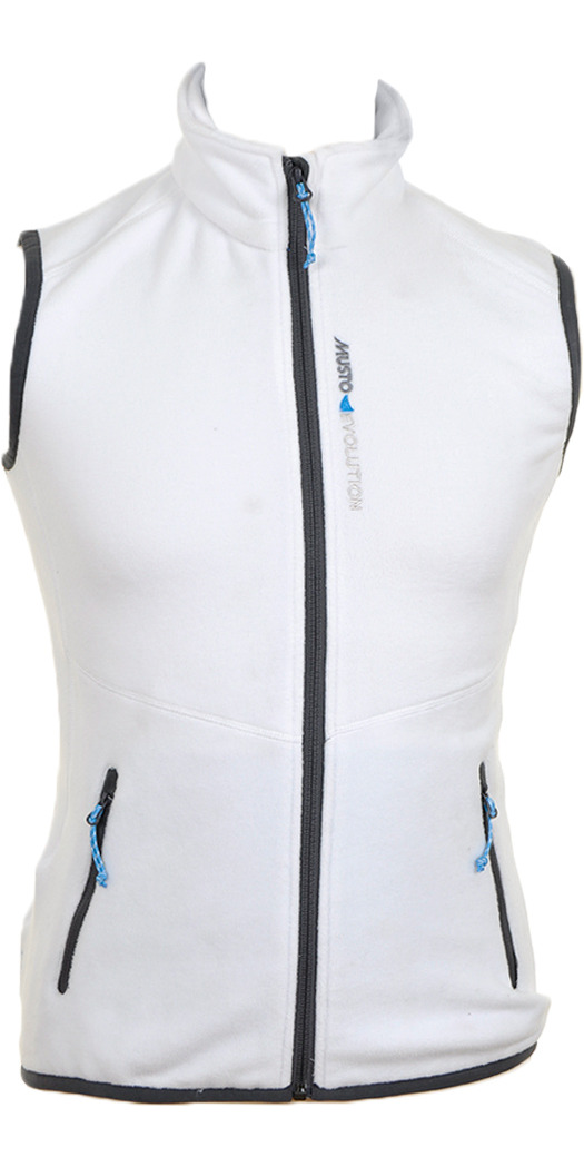 Musto Ladies Evolution Fleece Gilet in WHITE SE0423