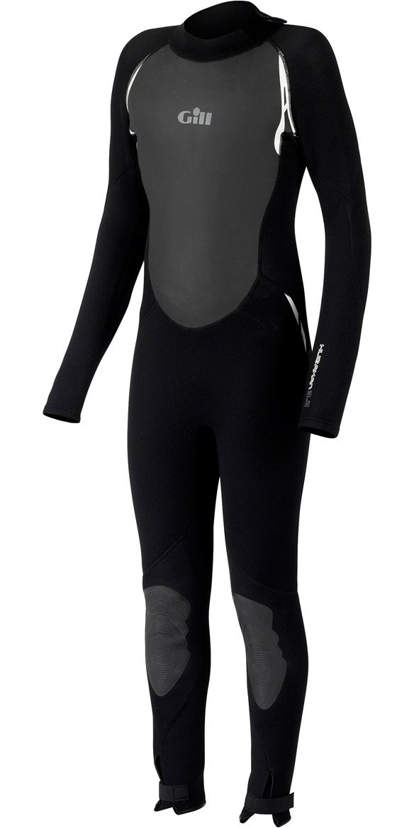 **2015 Gill Junior 3/2mm Full Arm Wetsuit JET BLACK 4605J