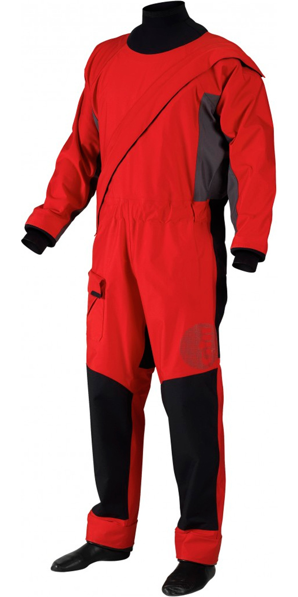 2015/16 Gill Junior Pro Drysuit Red 4803J