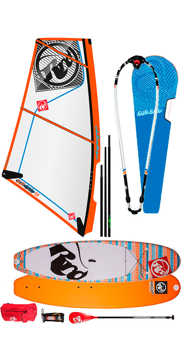 2015 RRD Airsup Windsup  SUP 10'2 Board, SAIL AND RIG 4.5m COMPLETE KIT