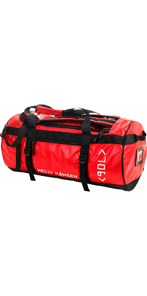 **2015 Helly Hansen 90L Duffle Bag Red 67004
