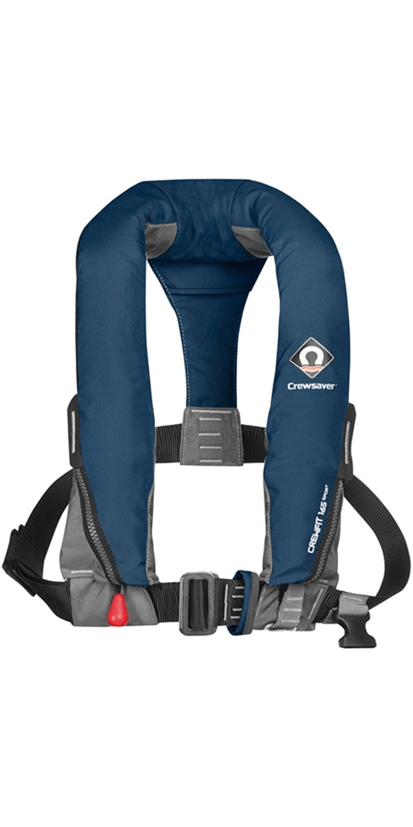 2016 Crewsaver Crewfit 165N Sport Automatic With Harness Lifejacket - Navy 9015NBA