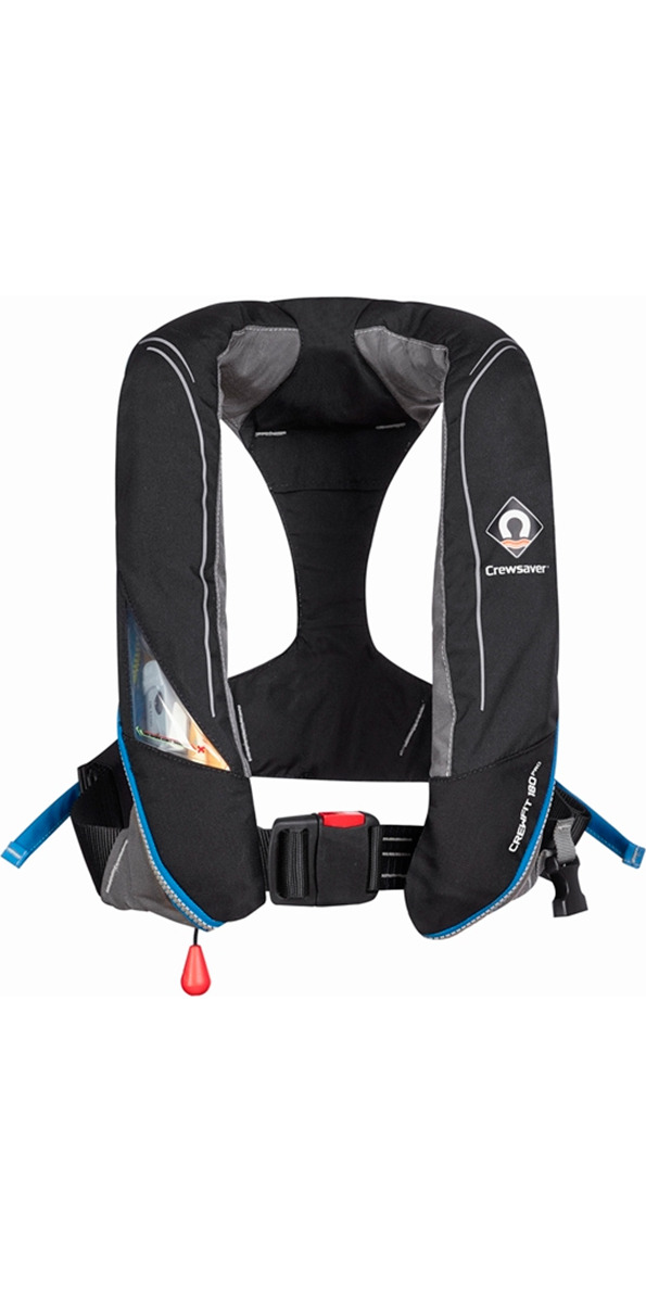 2016 Crewsaver Crewfit 180N Pro Automatic Black Lifejacket 9020BKA