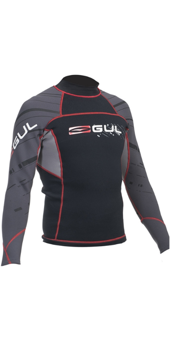 2015 Gul Profile 0.5mm Thermo Long Sleeve Top BLACK AC0057