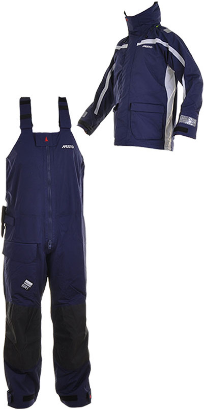 Musto BR1 Channel Jacket and Trouser COMBI SET in NAVY