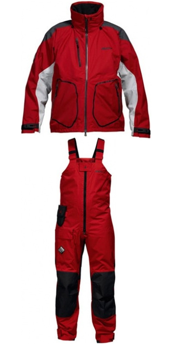 Musto BR1 MATCH Jacket SB0070 SBo070 & Trouser COMBI set in RED