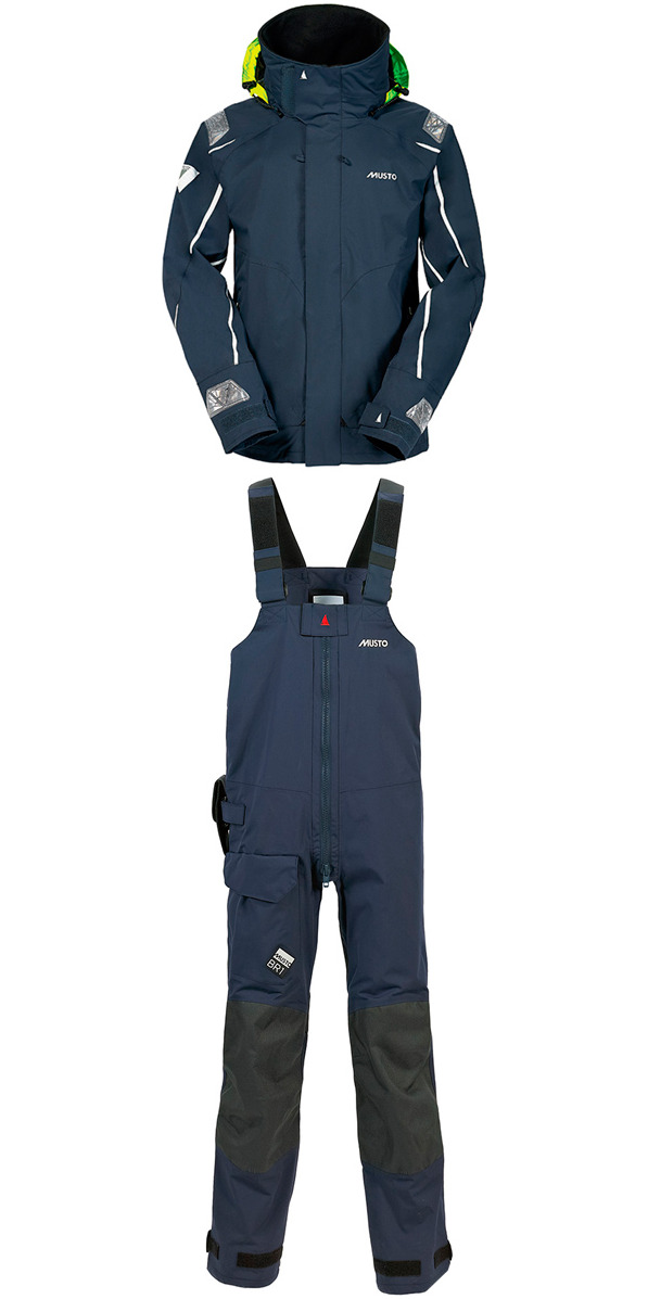 2014 Musto BR1 Channel Jacket SB1294 & Trouser SB1234 Combi Set Navy