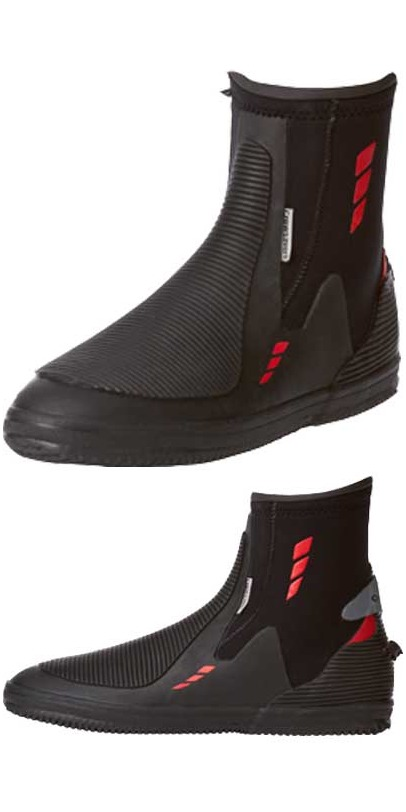 *2014 Crewsaver JUNIOR 5mm Zircon Zipped Boot in Black 4525