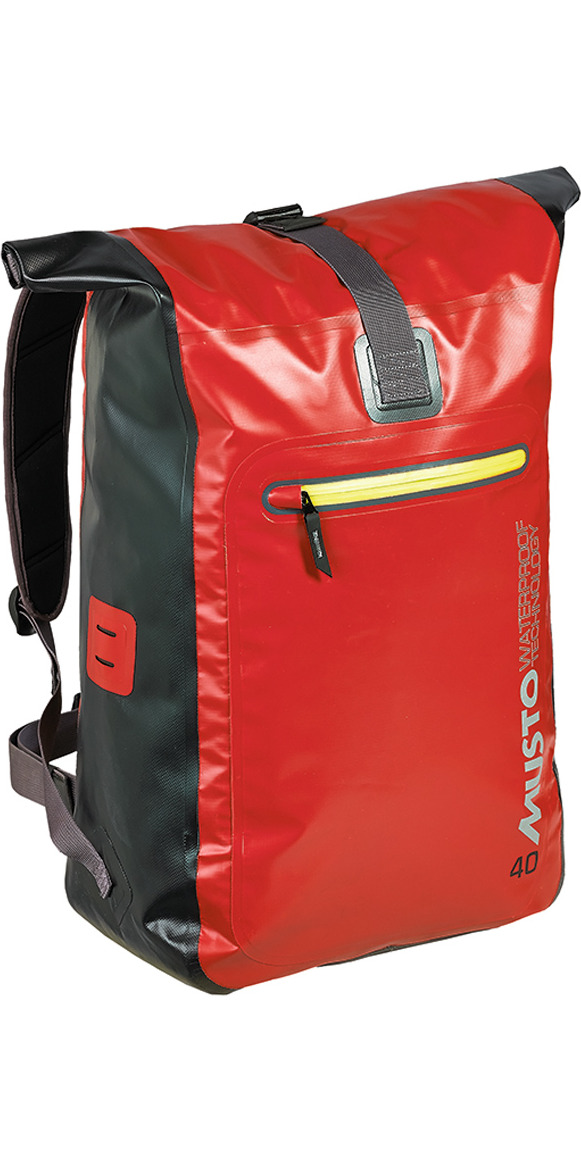 2015 Musto Evolution 40L Waterproof Back Pack True Red AE0270