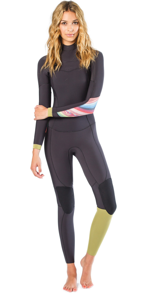 2015 Billabong Ladies 3/2mm Salty Days Dayz Chest Zip GBS Wetsuit in Multi Q43G03