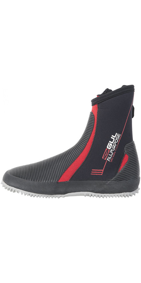 2015 Gul All Purpose 5mm Boots in Black/RED BO1276