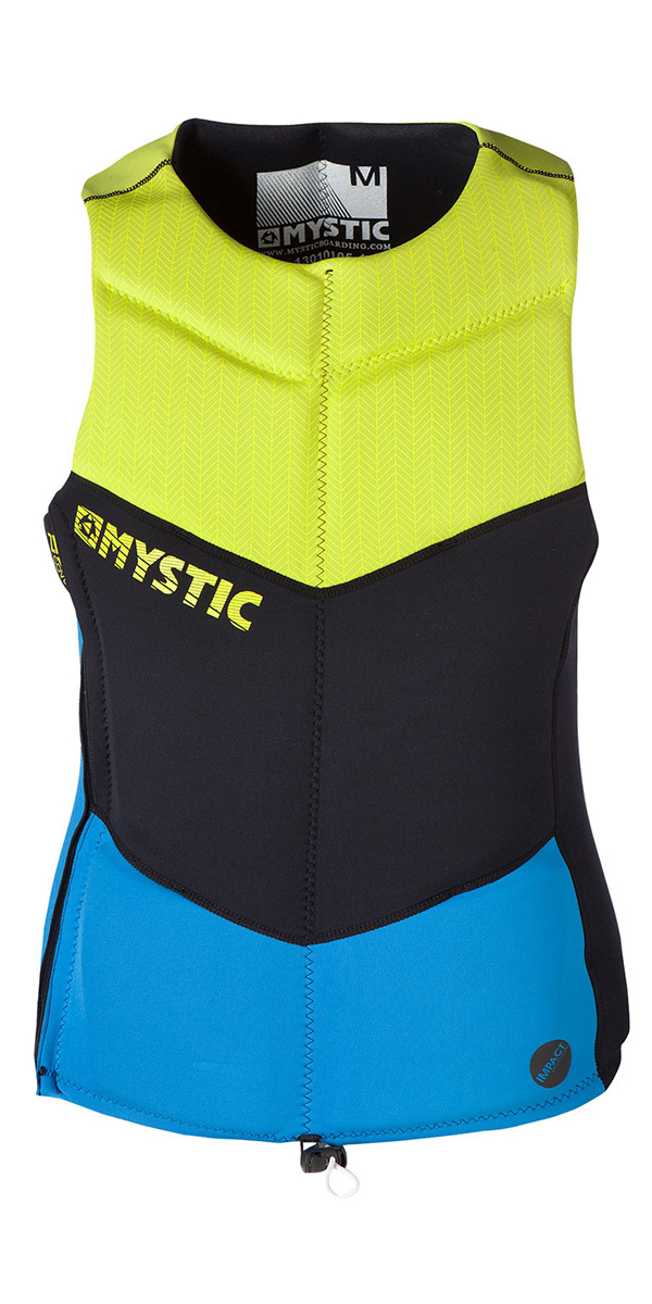 2014 Mystic Drip Side Zip Wakeboard Vest Blue 140335