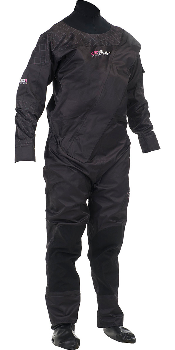 2014 Gul Shadow Ladies Front Zip Drysuit GM0350 - SUIT ONLY