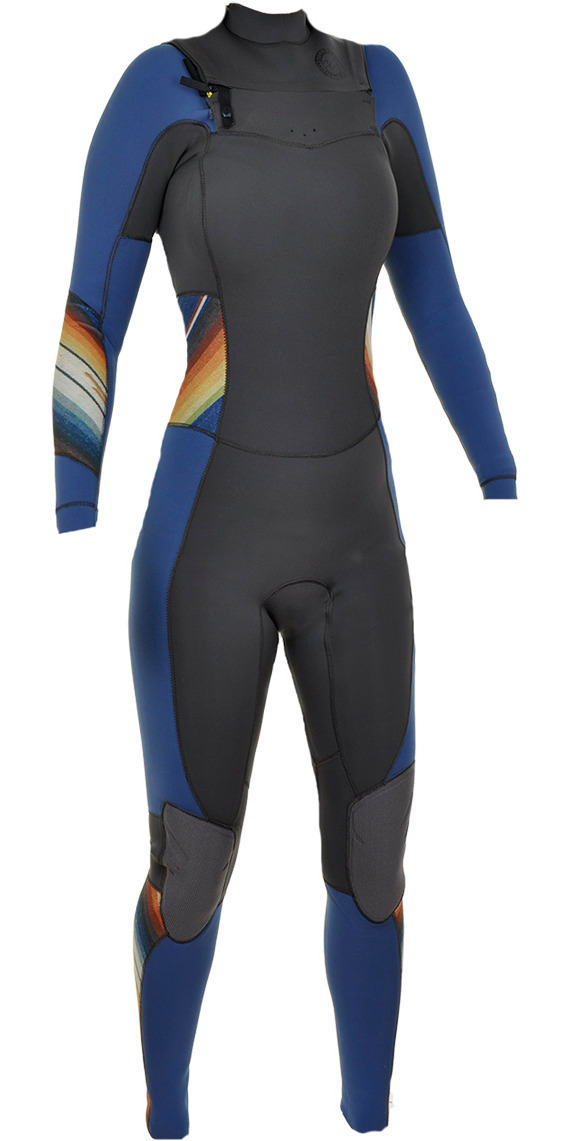 2015 Billabong Ladies 3/2mm Salty Days Dayz Chest Zip GBS Wetsuit in Serape Q43G03