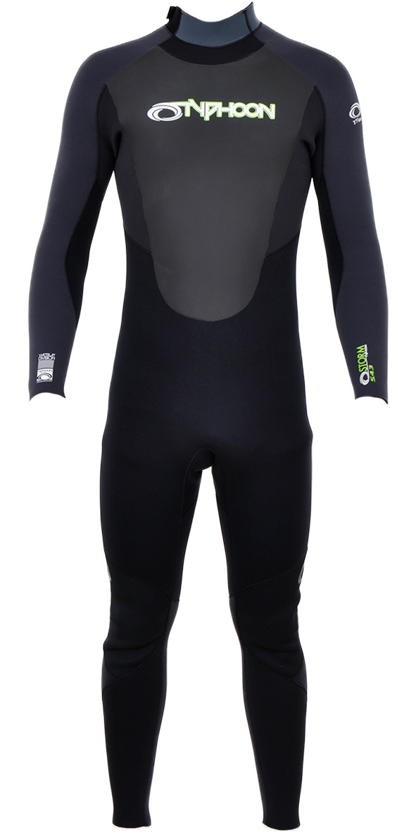 2015/16 Typhoon 5/4/3mm Storm Wetsuit in GREY 250661