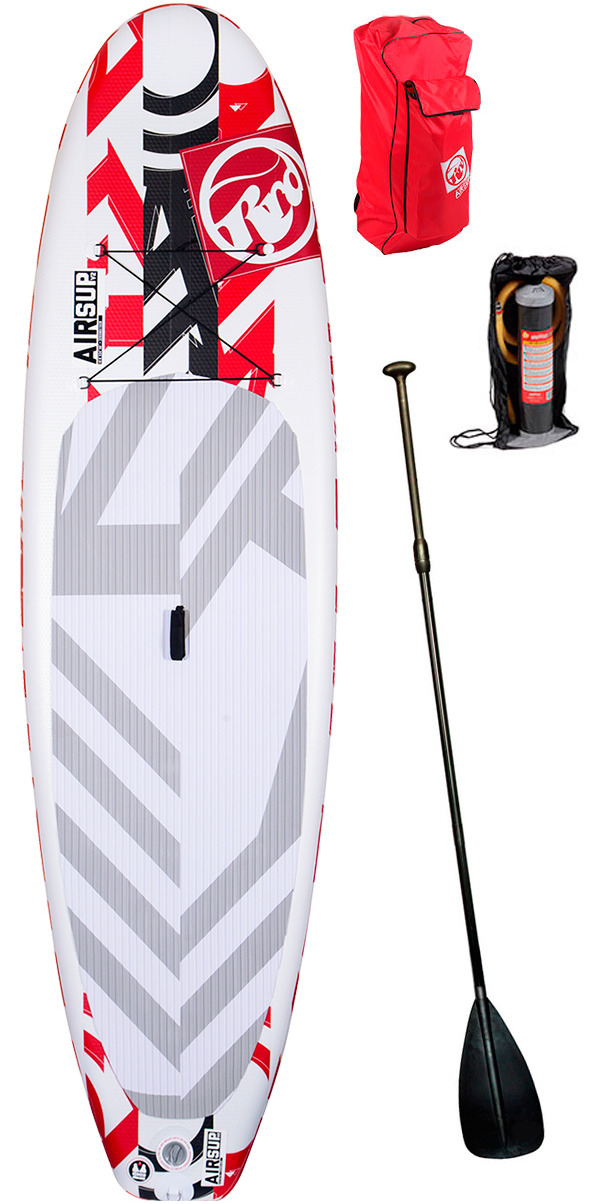 "Es Demo 2015 RRD AirSUP 10'4"" x 6"" V2 Inflatable Stand Up Paddle Board + Bag, Pump & Paddle"