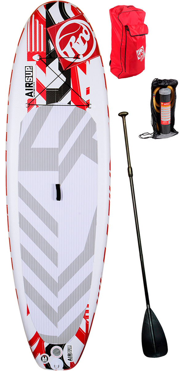 "Ex Demo 2015 RRD AirSUP 9'8"" V2 Inflatable Stand Up Paddle Board + Bag, Pump & Paddle"