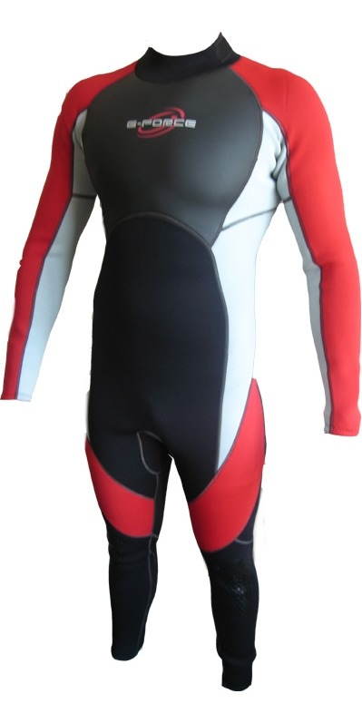 G-force Mens Full 3/2mm Wetsuit GF1303 RED