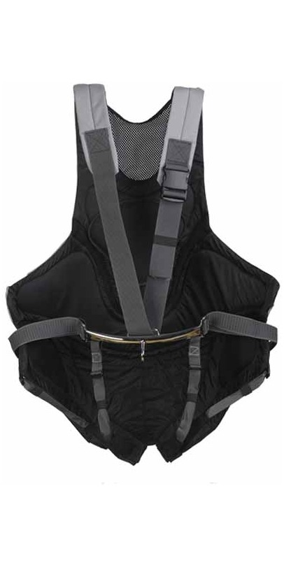 2014 Musto Adjustable Harness in Black/Silver AS0640