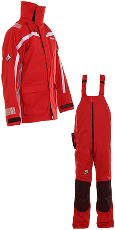 Musto BR1 Channel Jacket SB1293 Trouser COMBI SET RED 2013