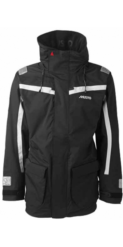 2013 Musto BR1 Channel Jacket SB1293 BLACK/PLATINUM