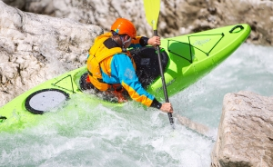 Winter clothing for white water kayaking