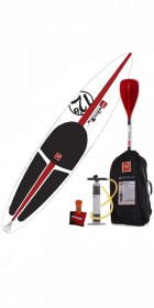2013 Red Paddle Co Red Air 12'6 Race RSS + Carry Bag & Pump