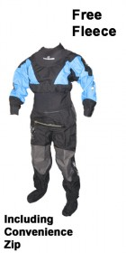 Typhoon Multisport 3 Ladies Drysuit + Con Zip + FREE FLEECE *NEW FOR 2013 100131