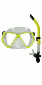 Typhoon TM2 Mask+Snorkel Set YELLOW
