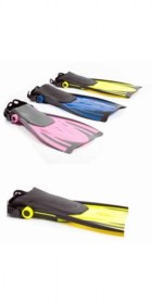 Typhoon Kids T-Jet Fins in YELLOW
