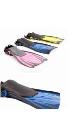 Typhoon Kids T-Jet Fins in BLUE