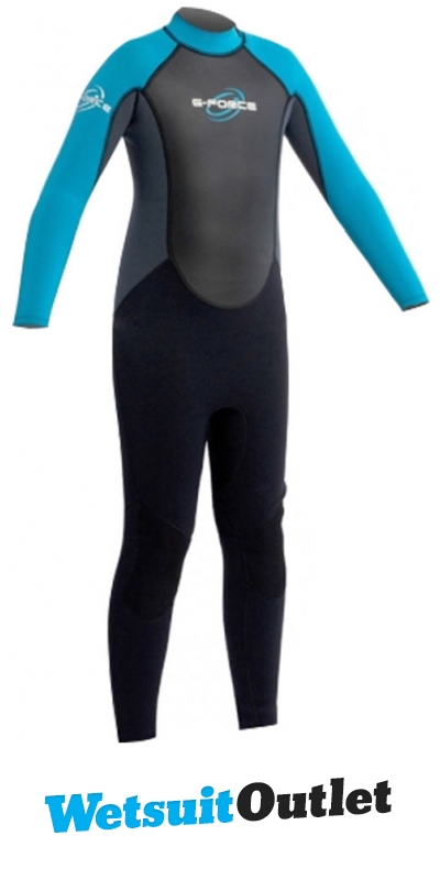 2014-Gul-G-Force-JUNIOR-3mm-Wetsuit-in-Black-Fog-Blue-GF1307