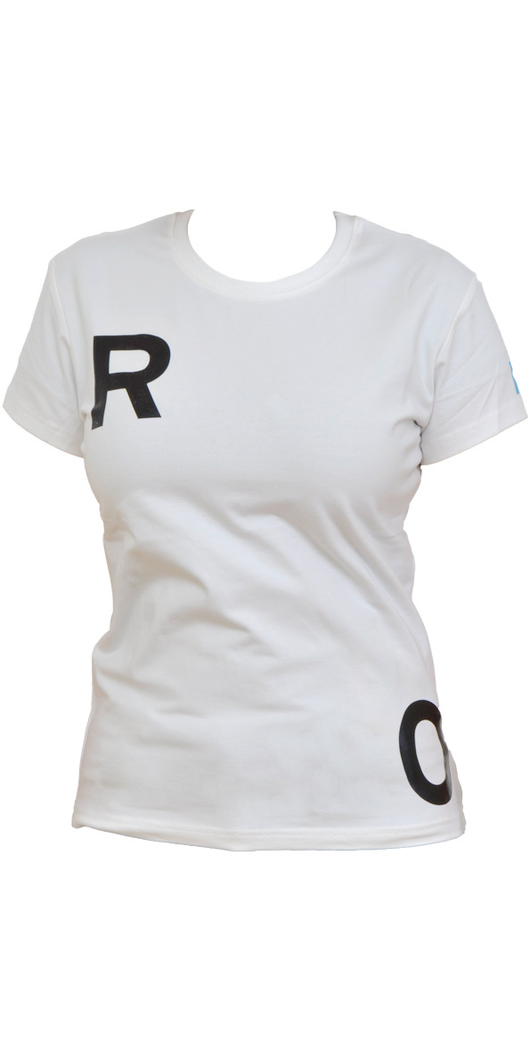 Roxy Ladies Poka Technical Surf Tee UV 50 Sun Protection in WHITE