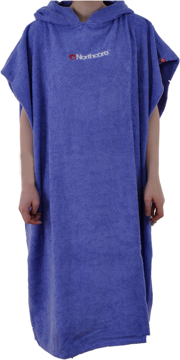 2015 Northcore Beach Basha Poncho / Changing Robe BLUE NOCO24B